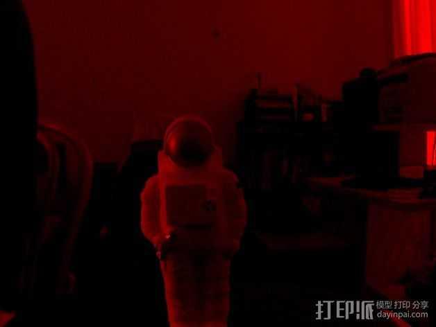 宇航员模型 3D打印模型渲染图