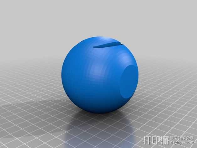 笑脸 微笑符 3D打印模型渲染图