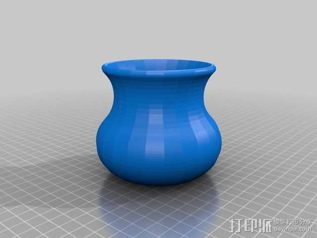 传统花瓶 3D打印模型渲染图
