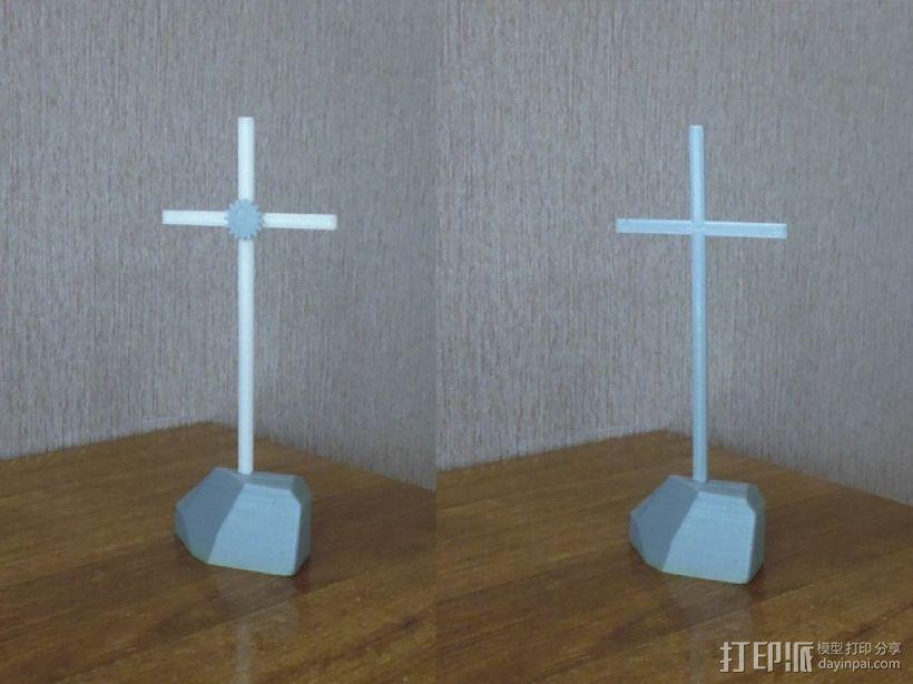 十字架 3D打印模型渲染图