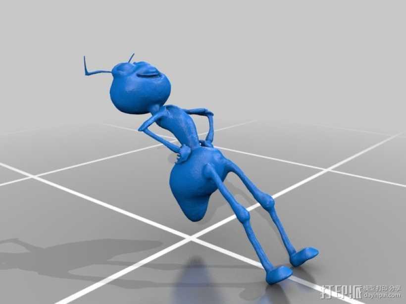 蚂蚁模型 3D打印模型渲染图