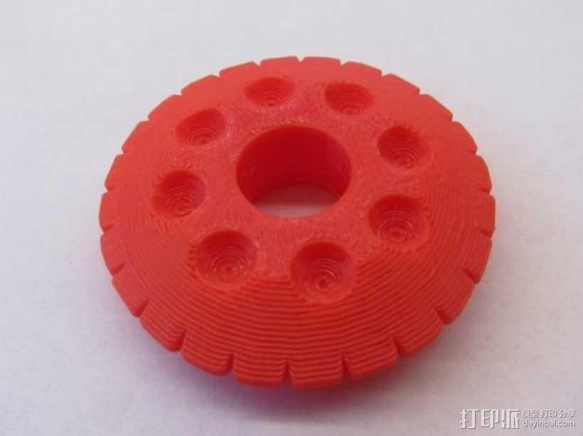 约瑟夫·史密斯的预言石 3D打印模型渲染图