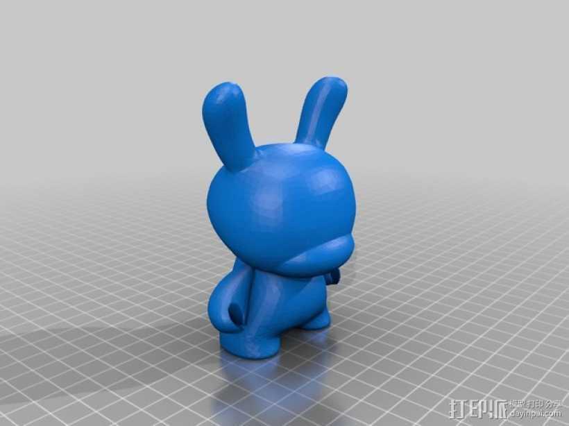 潮流公仔Munny和Dunny模型 3D打印模型渲染图