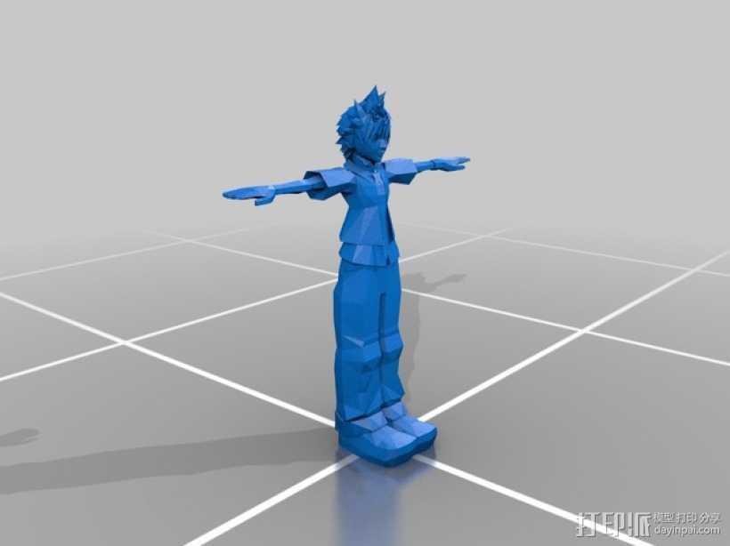 Roxas洛克萨斯 3D打印模型渲染图