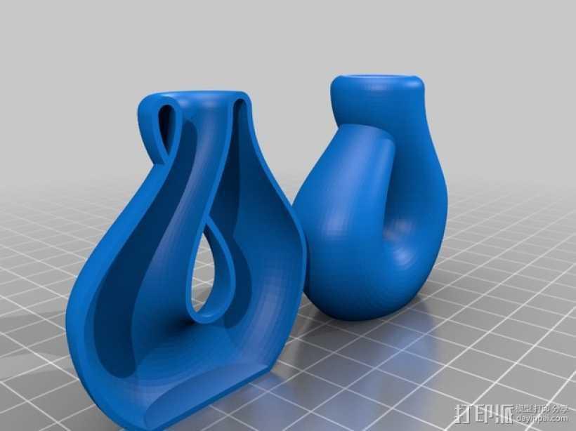 克莱因瓶 3D打印模型渲染图