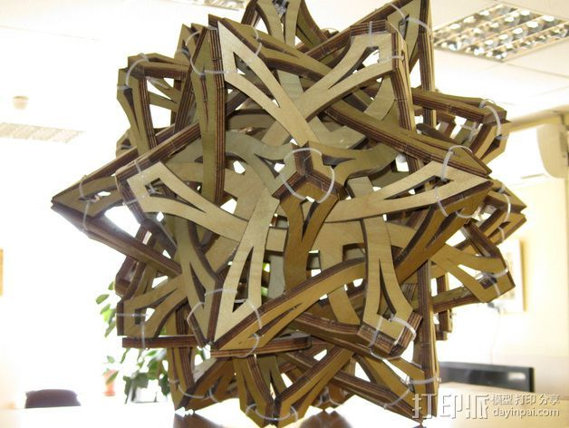 乔治哈特的罗盘 3D打印模型渲染图