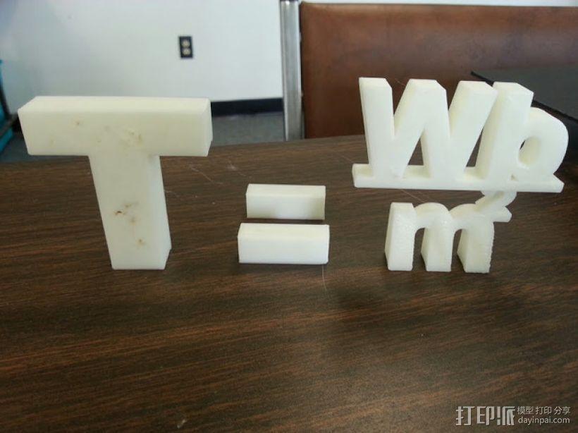 特斯拉公式 3D打印模型渲染图
