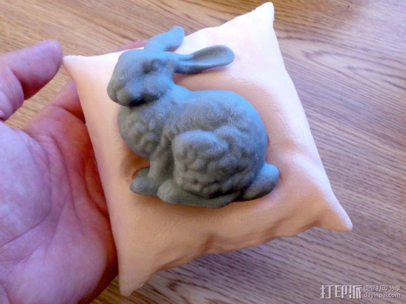 斯坦福兔子 3D打印模型渲染图