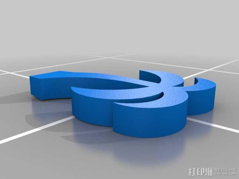 棕榈树 3D打印模型渲染图