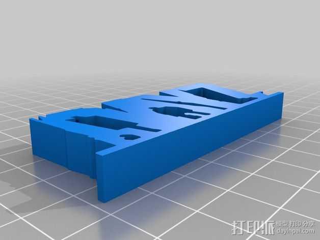 DayZ标志 3D打印模型渲染图
