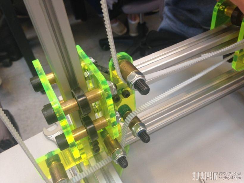 迷你发泡胶切割机 3D打印模型渲染图