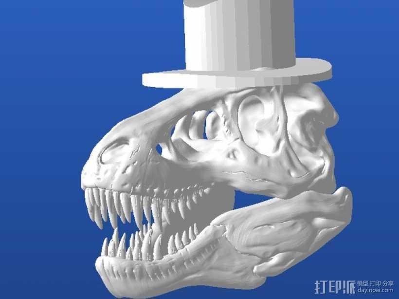 霸王龙 Harrison 3D打印模型渲染图