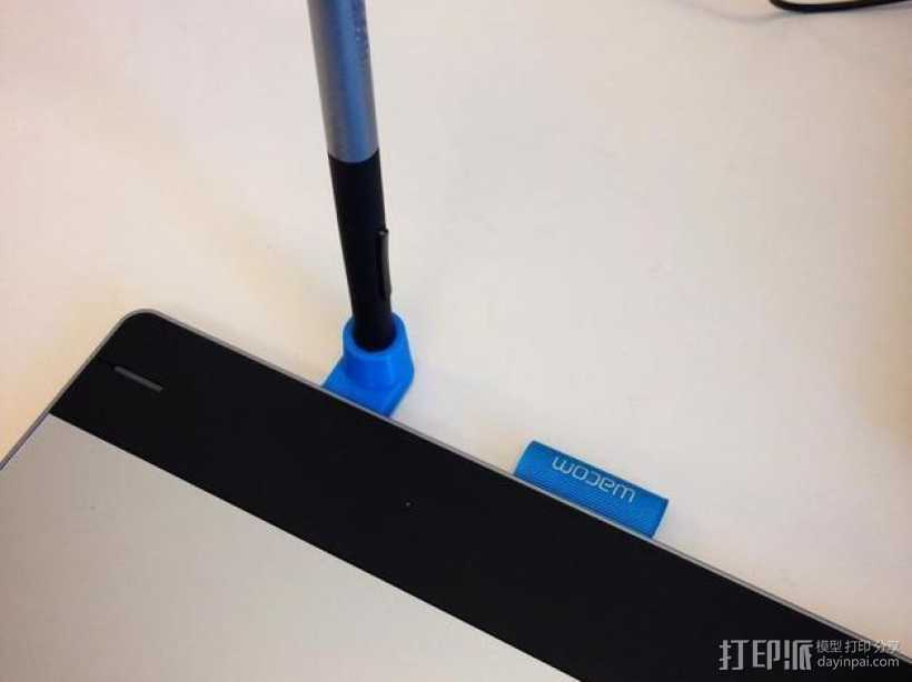 为平板而设计的笔筒 3D打印模型渲染图