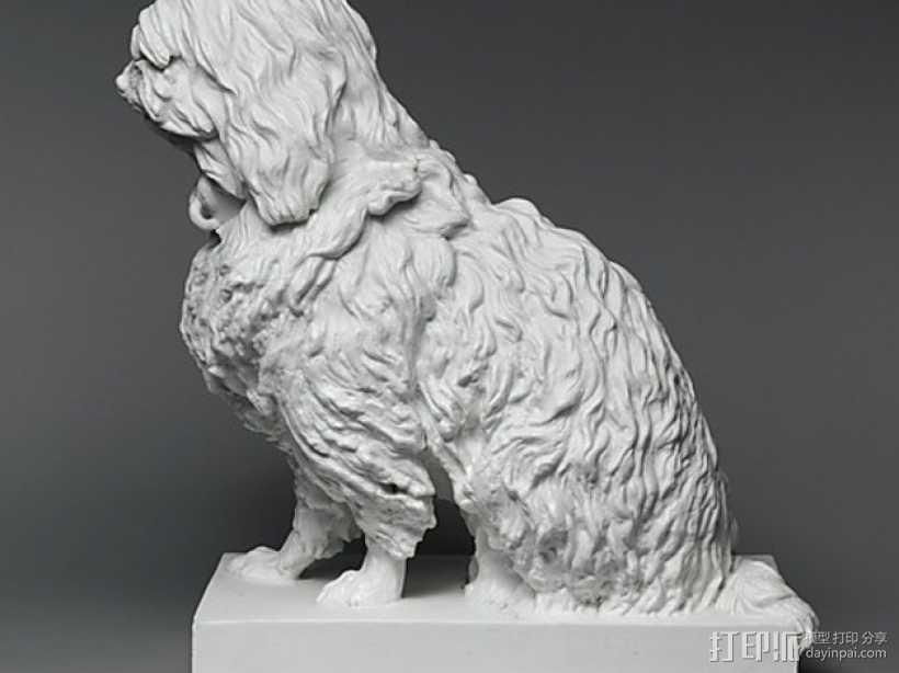 马耳他狗 3D打印模型渲染图