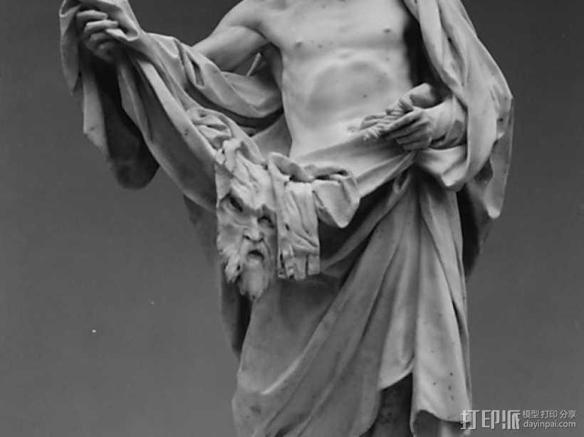 圣巴托洛缪大屠杀 塑像 3D打印模型渲染图