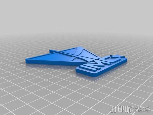 泰坦陨落 IMC Logo 3D打印模型渲染图