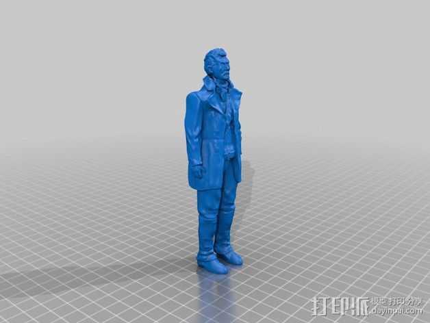 战地医生 3D打印模型渲染图