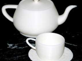 犹他茶杯 杯垫