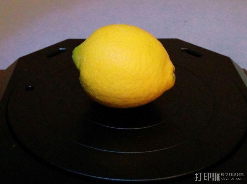 一个柠檬 3D打印模型渲染图