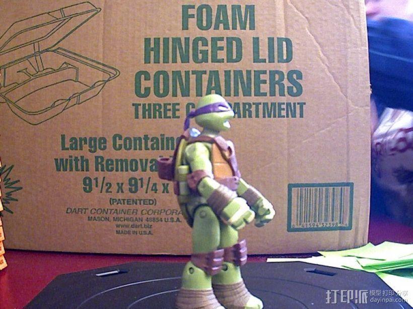 忍者神龟 3D打印模型渲染图
