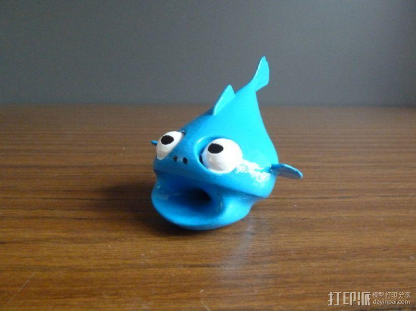 小鱼LeFishy 装饰品 3D打印模型渲染图