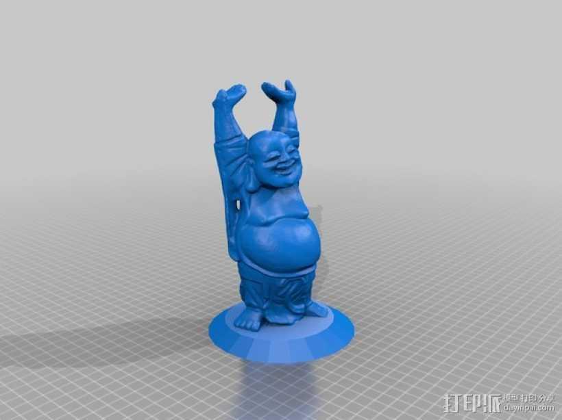 佛像/佛陀 3D打印模型渲染图
