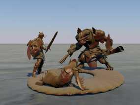 游戏《激战(GuildWars2)》人物