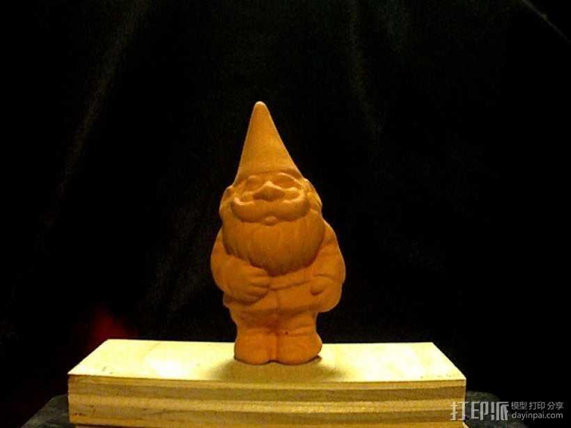 小侏儒 3D打印模型渲染图