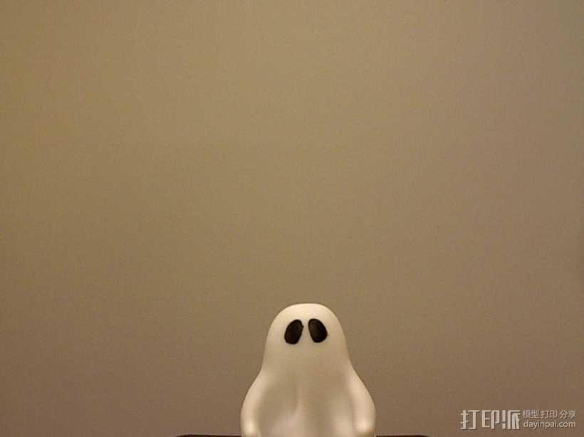 可爱的小鬼 3D打印模型渲染图