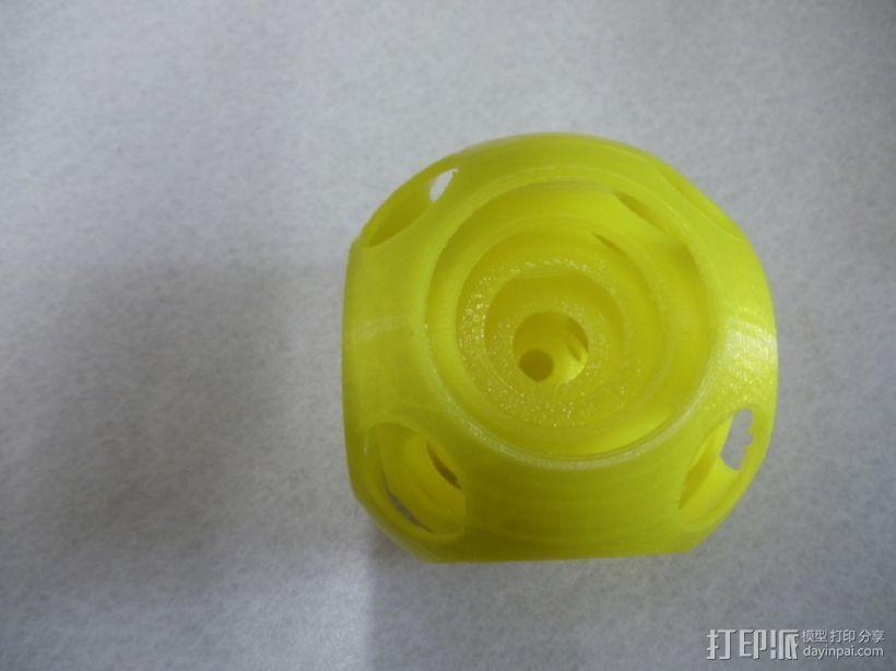 同心球 3D打印模型渲染图