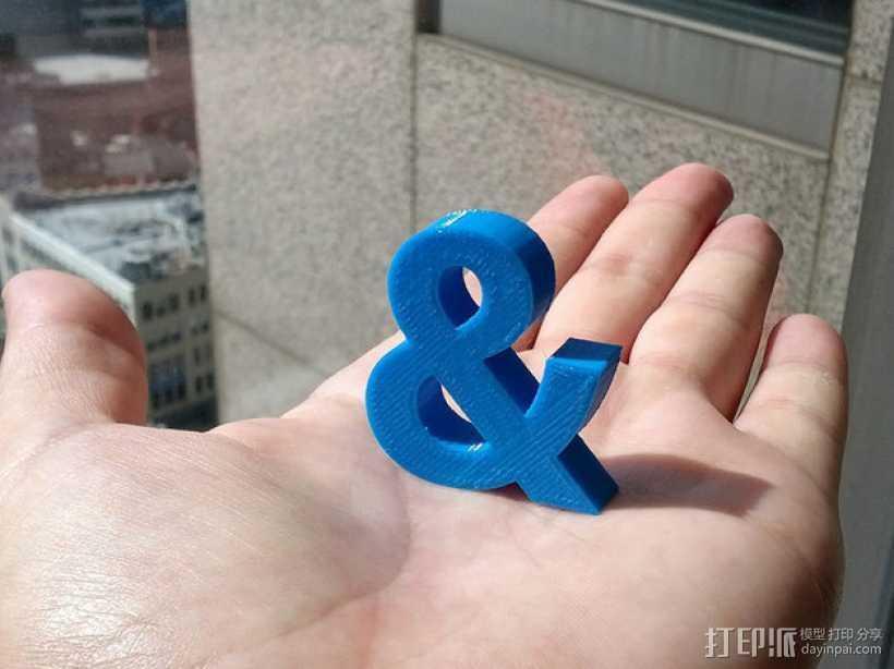 特殊符号& 3D打印模型渲染图