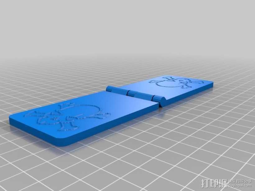 骷髅头 浮雕 3D打印模型渲染图