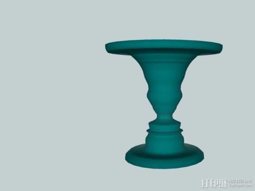 鲁宾杯 3D打印模型渲染图