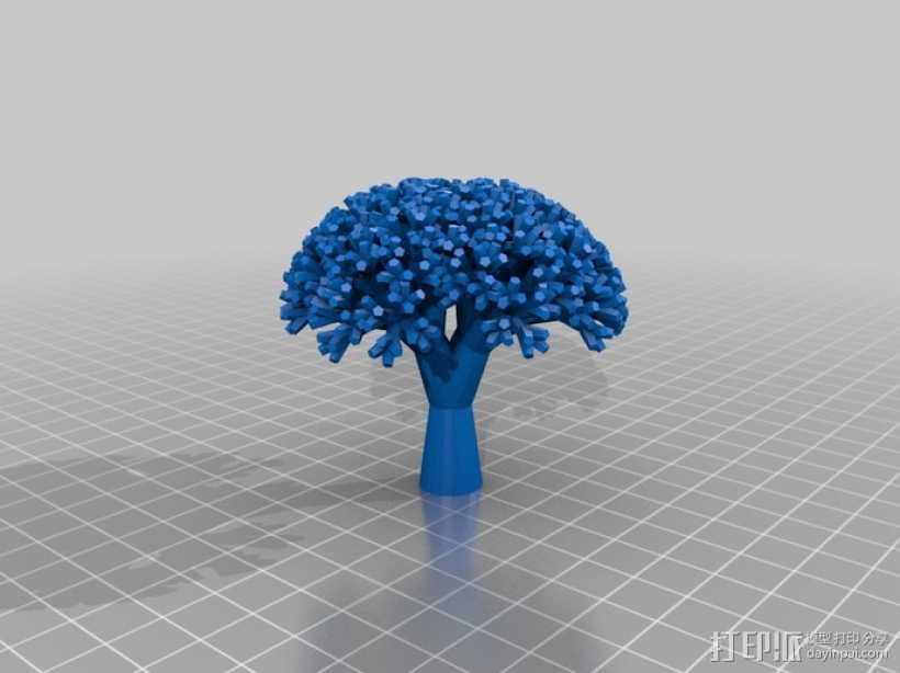 西兰花 3D打印模型渲染图