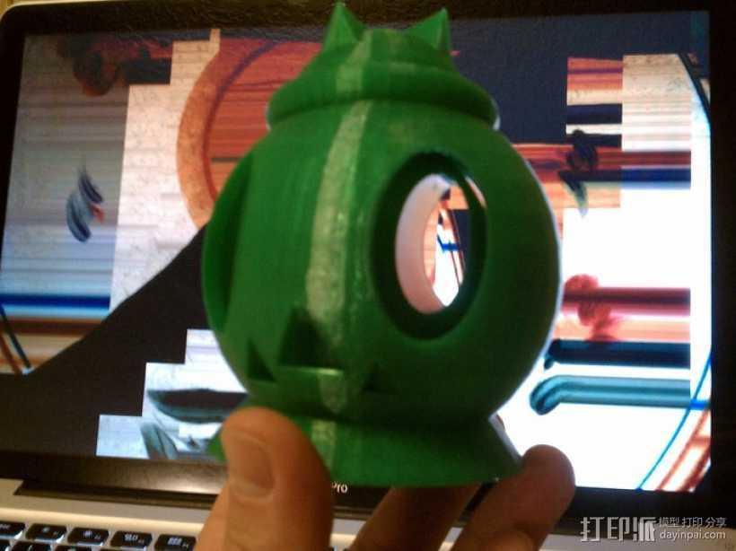 南瓜头 3D打印模型渲染图