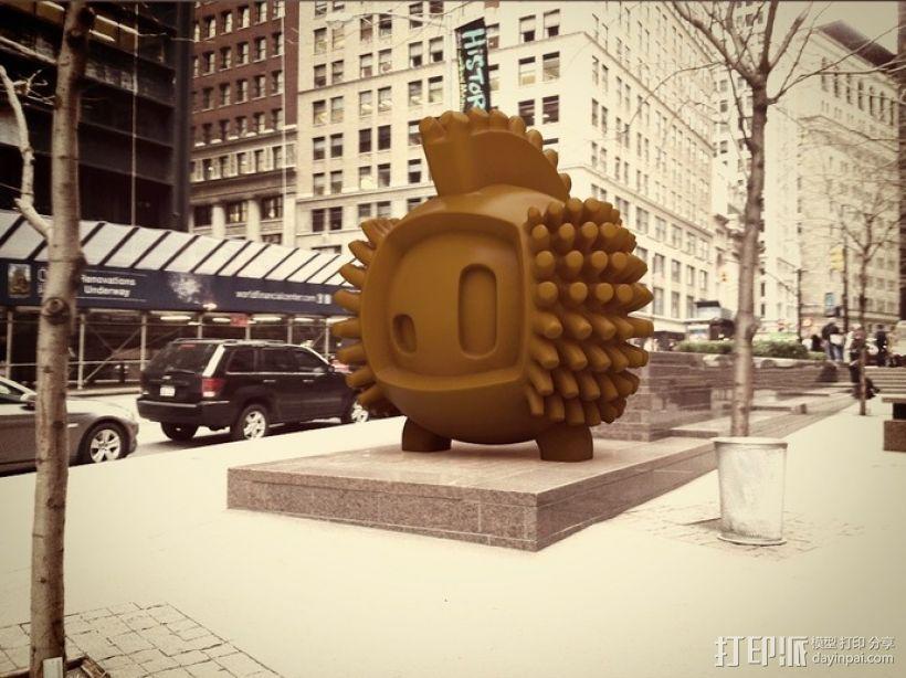 luxEmber02玩偶 3D打印模型渲染图