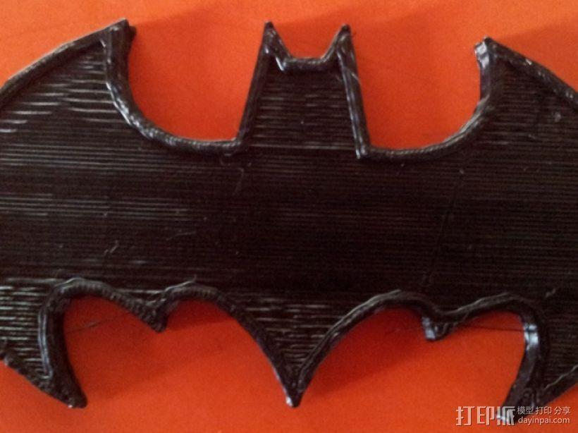 蝙蝠侠 冰箱贴 3D打印模型渲染图