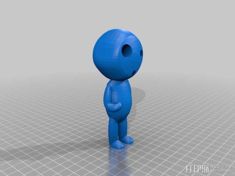 木灵  3D打印模型渲染图
