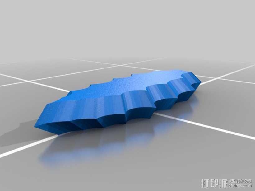 打火石 3D打印模型渲染图