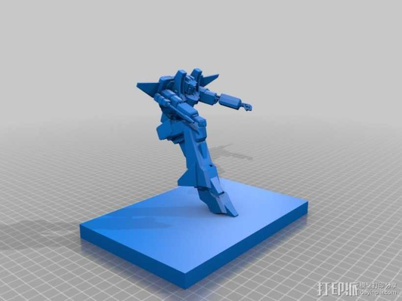 《变形金刚》红蜘蛛 3D打印模型渲染图
