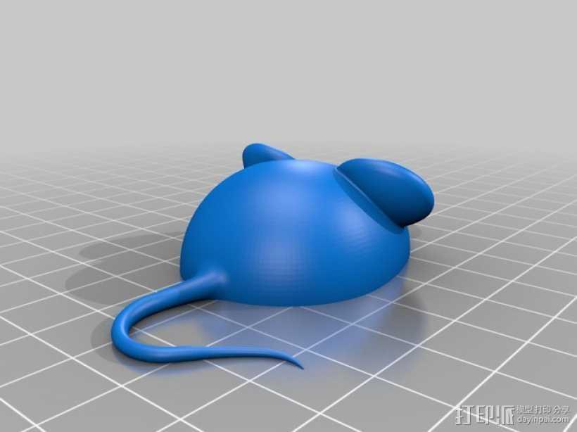 3D老鼠 3D打印模型渲染图