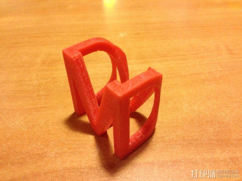 光与影的交替 Shadow Cube 3D打印模型渲染图