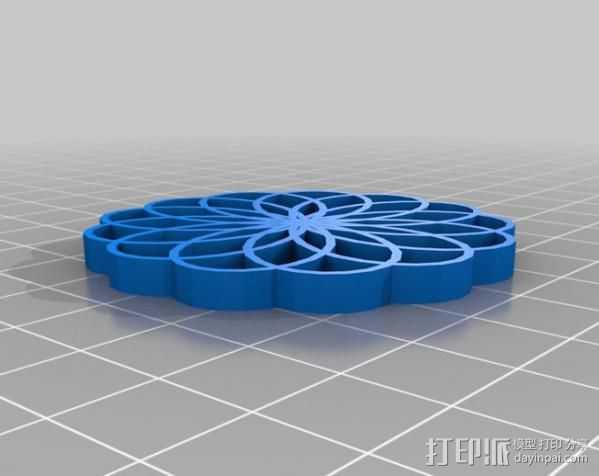 定制化波形发生器 3D打印模型渲染图