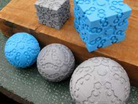 立方体 球体