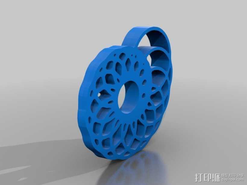 鹦鹉螺 面板 3D打印模型渲染图