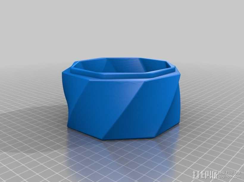 圣诞礼物盒 3D打印模型渲染图