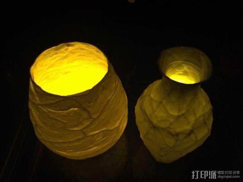 花瓶  灯罩  3D打印模型渲染图
