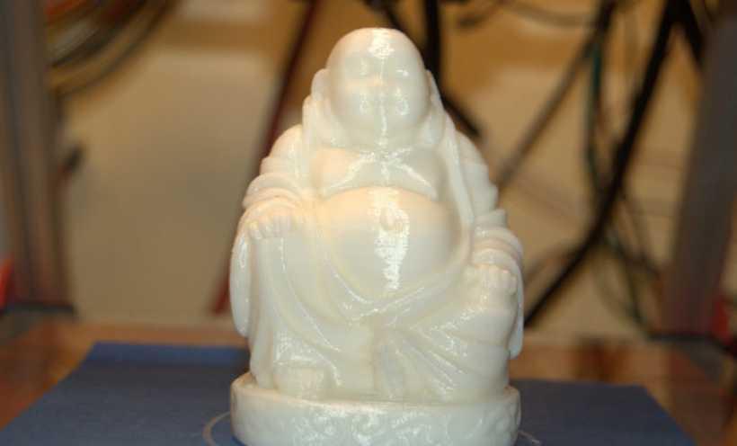 小型 笑佛 3D打印实物照片