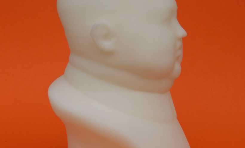 金正恩 雕像 3D打印实物照片