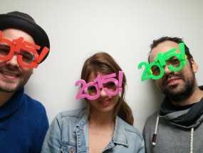 2015年 跨年 眼镜